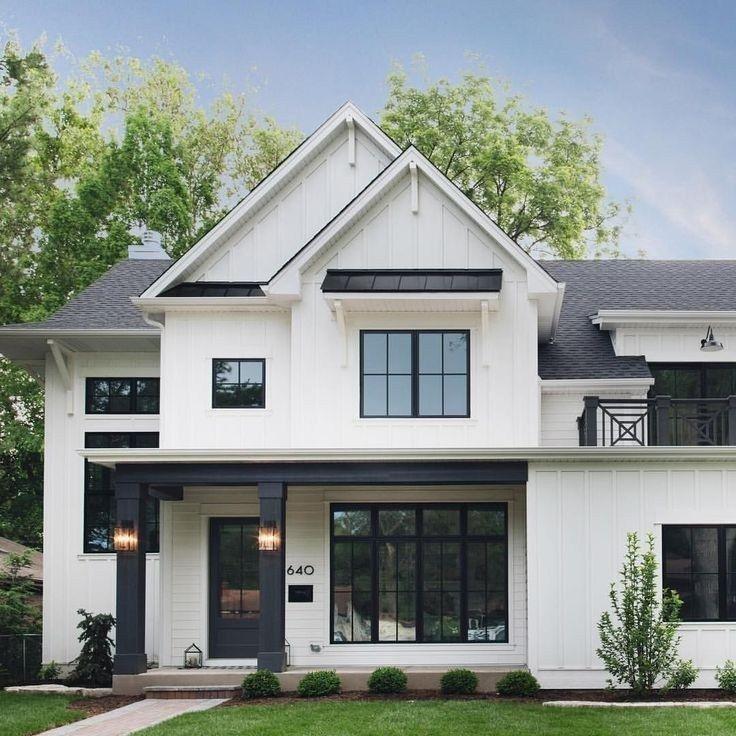 ✔45 beautiful modern farmhouse exterior design ideas 15 ~ aacmm.com