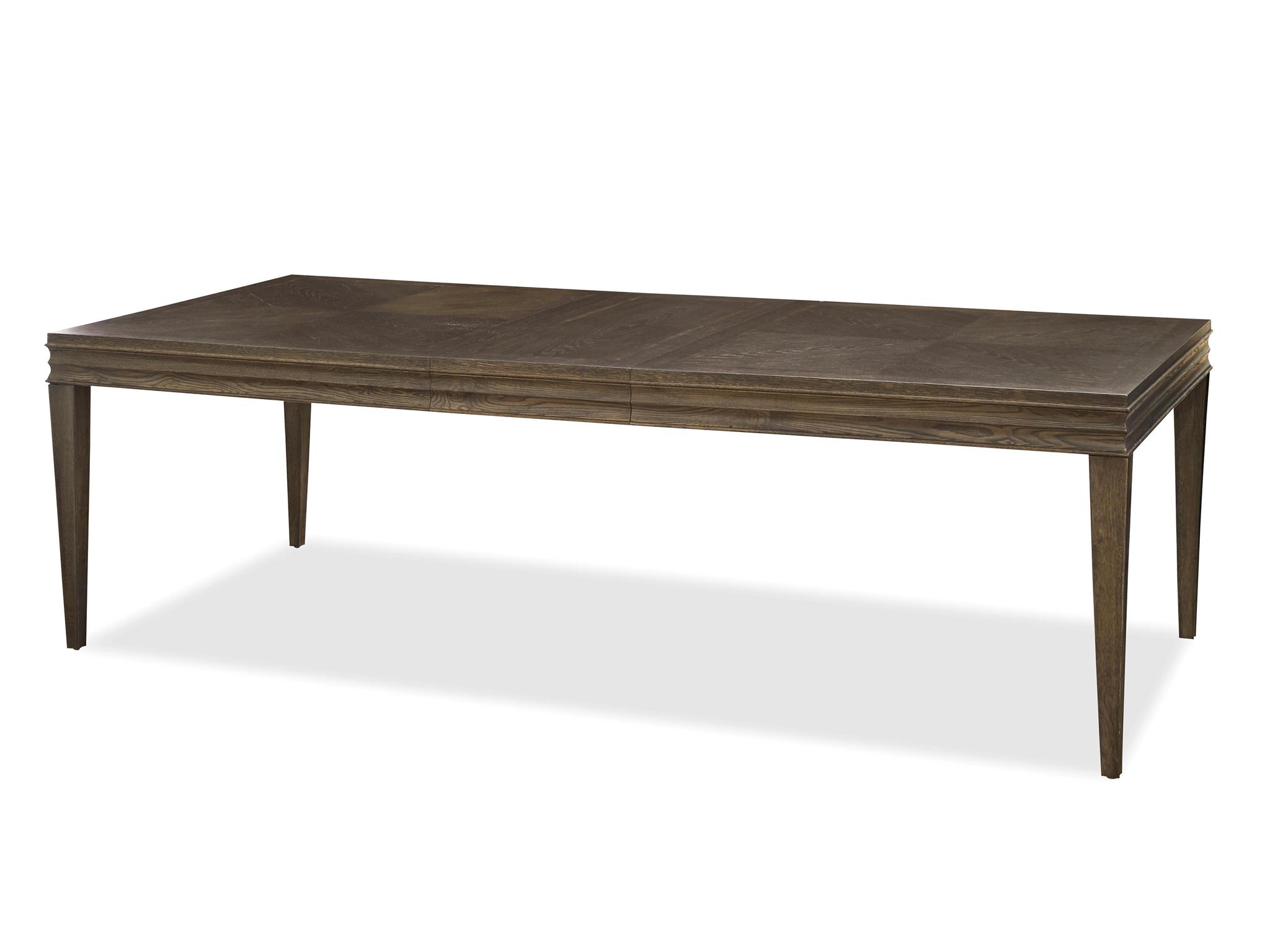 Universal Furniture  California  California Dining Table Simple Universal Furniture Dining Room Set Design Inspiration
