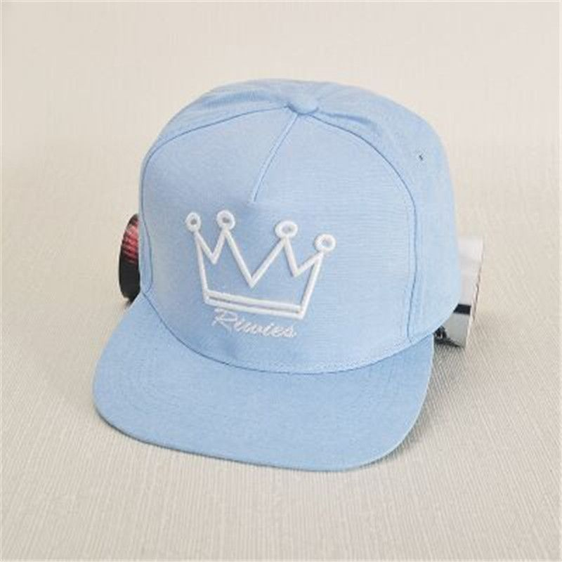 Hot new fashion women's hat baseball cap flat along the hip-hop crown cap casual female hat snapback hat