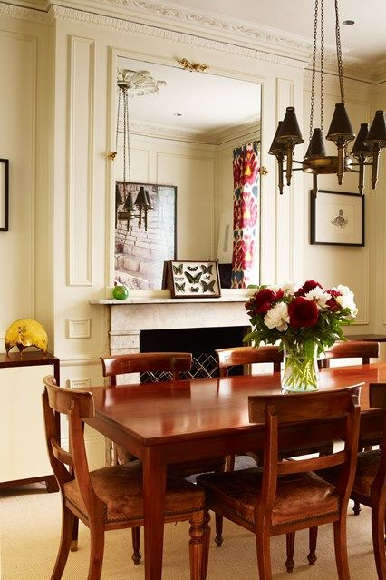 Small Classic Victorian Dining Room With Images Classic Dining