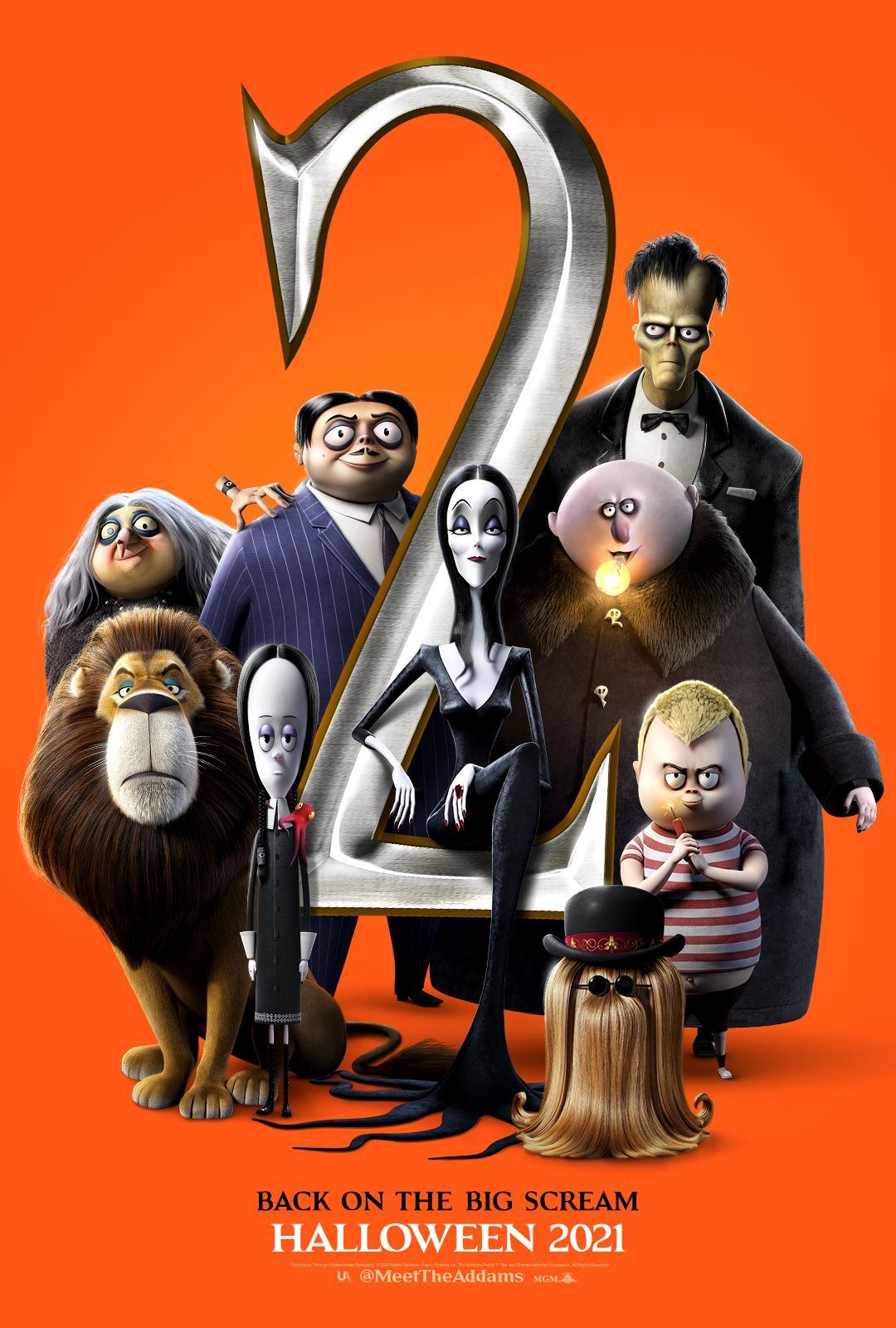 Los Locos Addams 2 Primer Póster La Familia Addams Snoop Dogg Comedias En Netflix