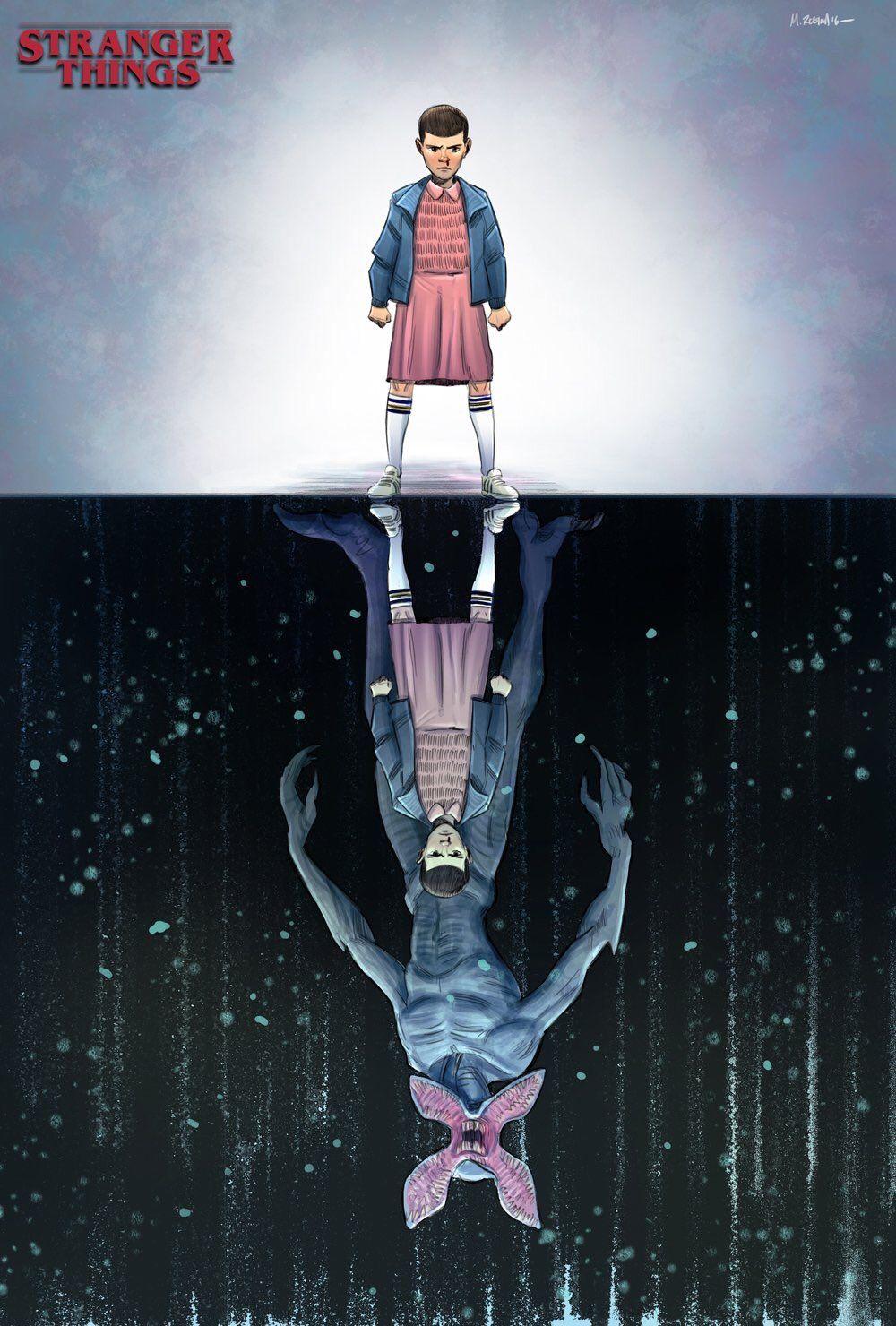 Upside Down Art Stranger Things Fan Art Will Turn You Upside Down Fan Art Fans