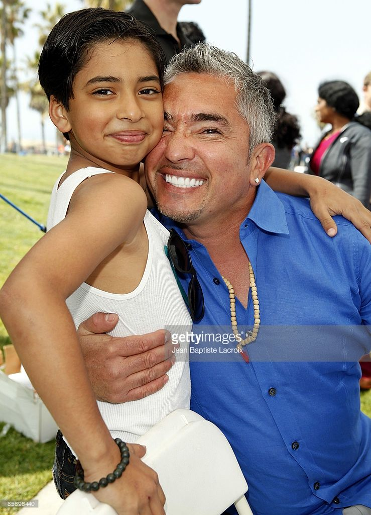 cesar millan and son calvin millan visit tour for life adoption event picture id85696440 739. Black Bedroom Furniture Sets. Home Design Ideas