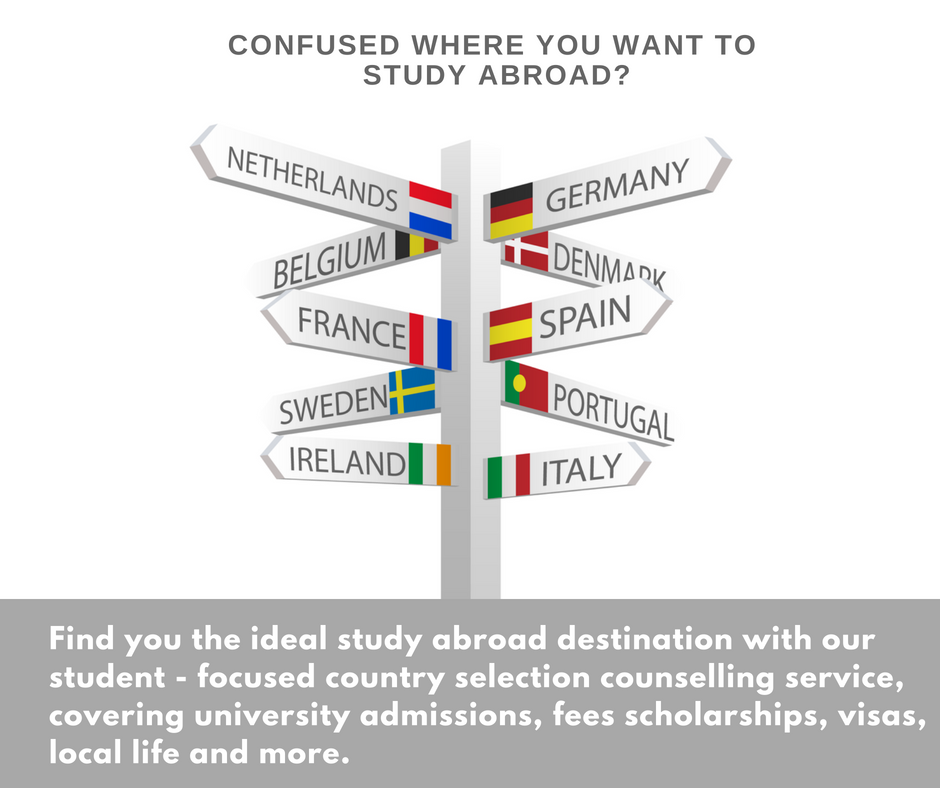Find the country that best suits you to #studyabroad! At