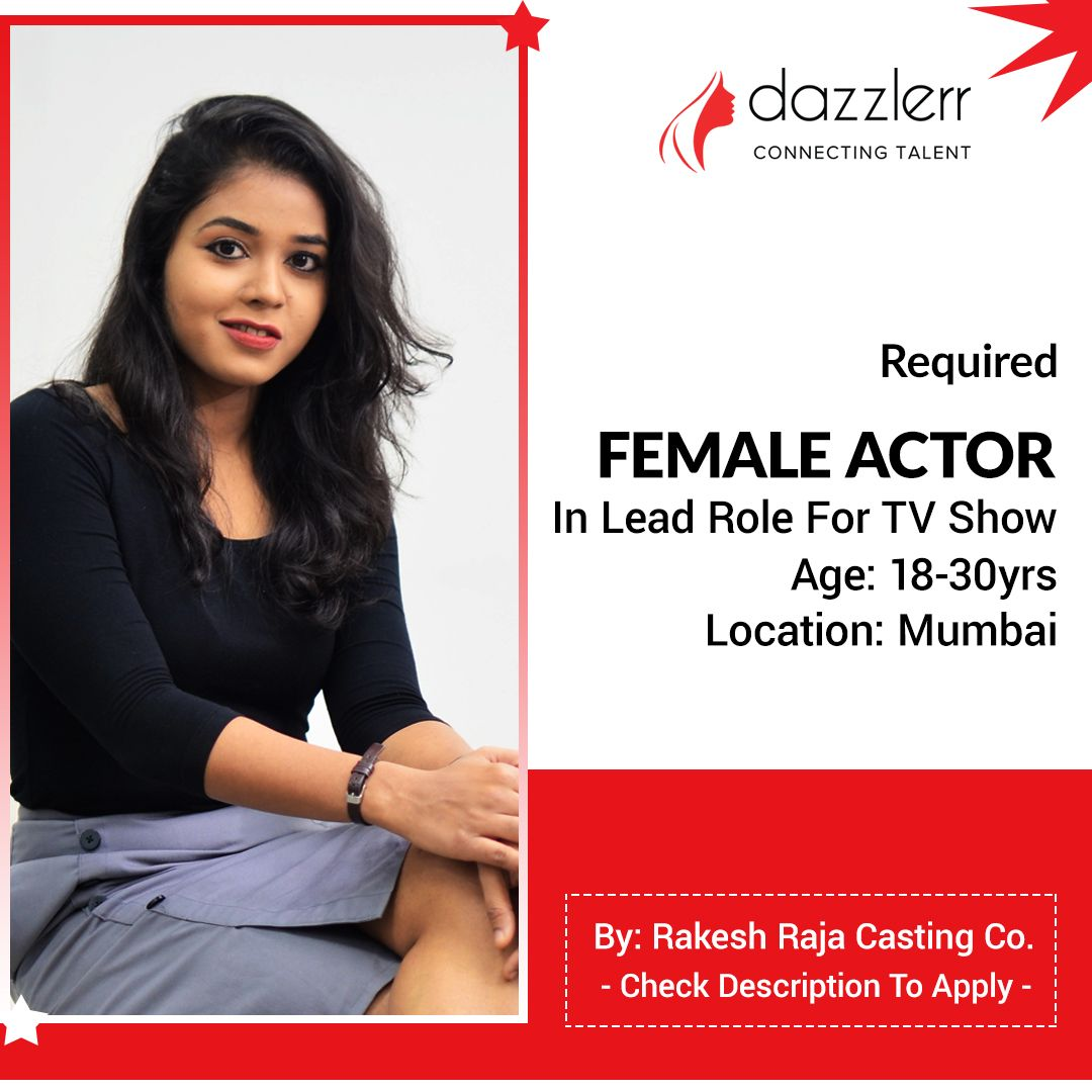 Required Female Actor In Lead Role For TV Show in 2020