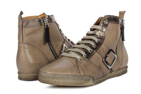 NuDE of Scandinavia Cajsa sko - Heppo.dk - grå sko online