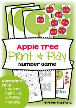 Apple Tree Number Game