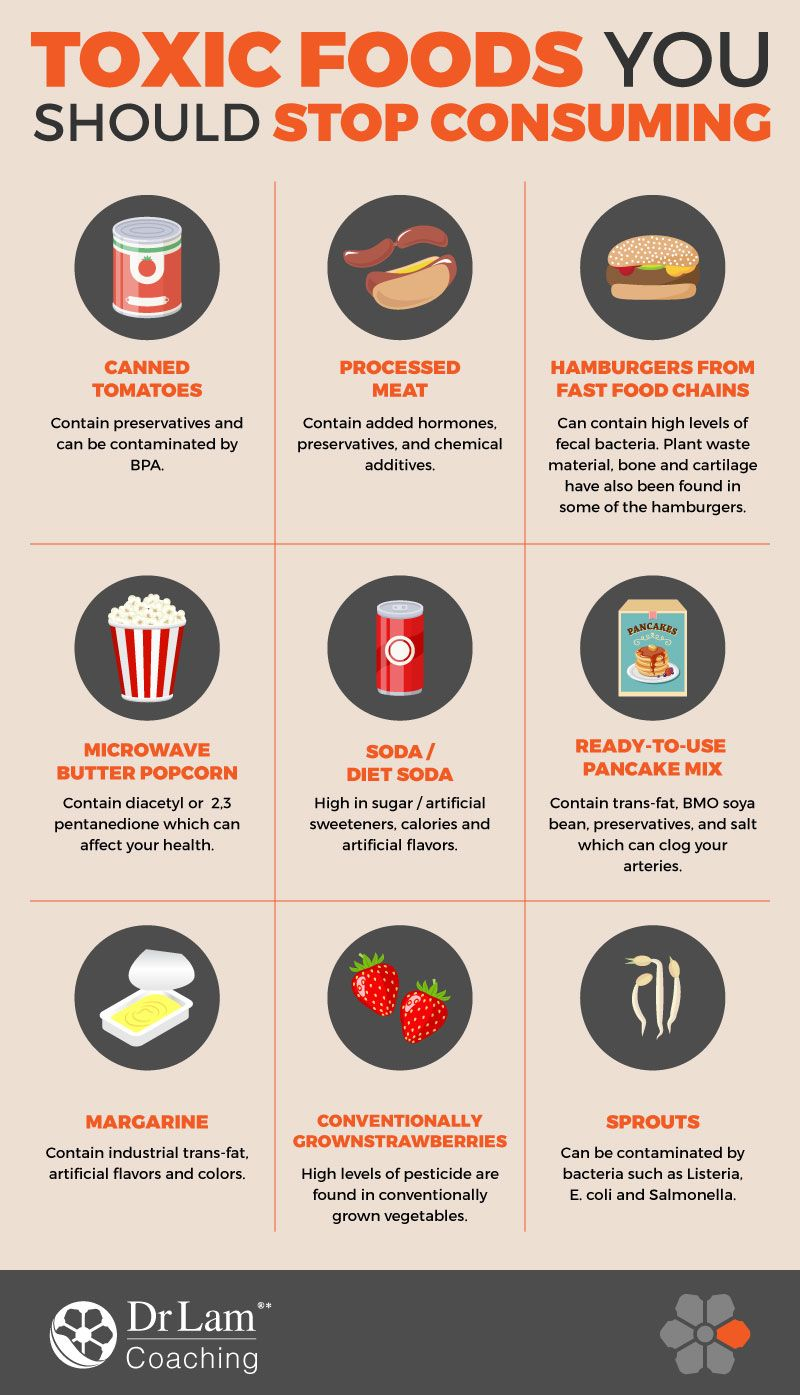 Avoiding These Toxic Foods Will Help You Overcome Adrenal Fatigue Toxic Foods Health Junk Food