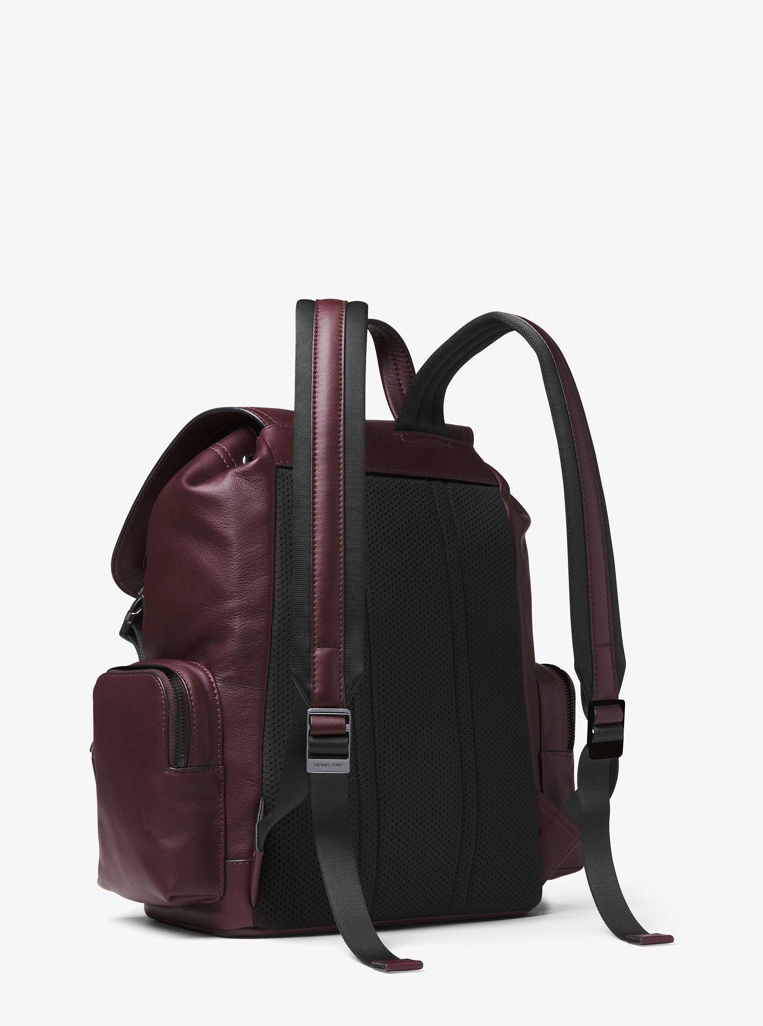 82156a984596 Michael Kors Henry Leather Backpack - Cordovan   Products   Leather ...