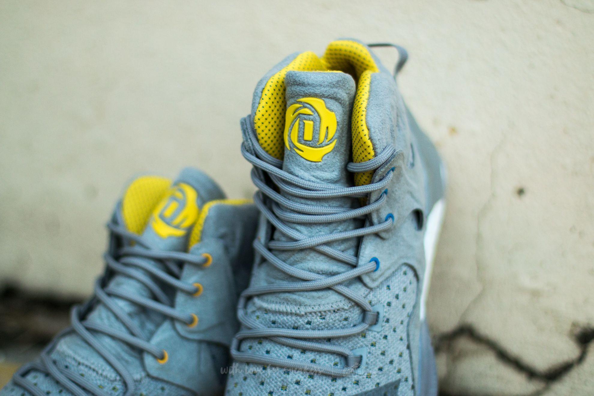 2d2b0a06328 adidas Consortium x Sneakersnstuff D Rose 7 Primeknit Grey  Core Yellow at  a great price