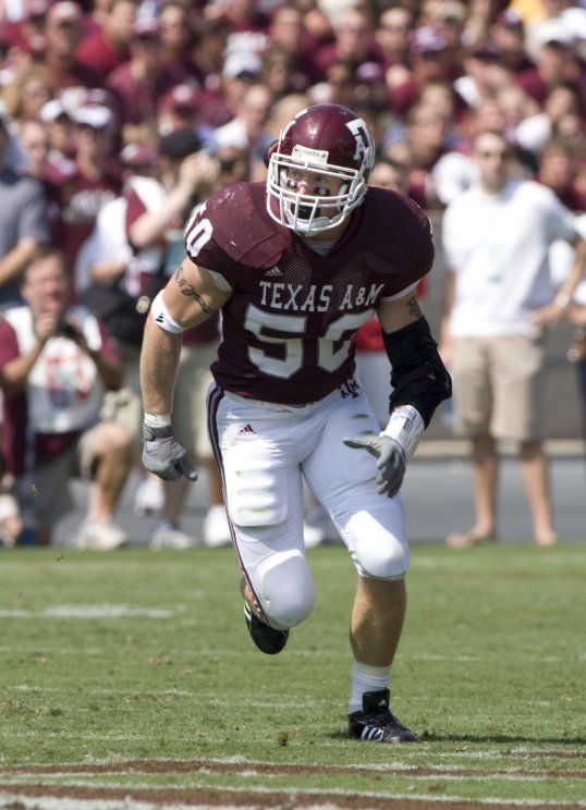 Texas Aggie Linebacker Mark Dodge Texas Aggies Aggie Football Aggies