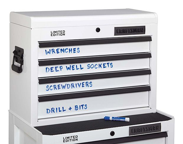 Craftsman Dry Erase Tool Storage  When It Comes To Buying A Big Boy Toolbox,