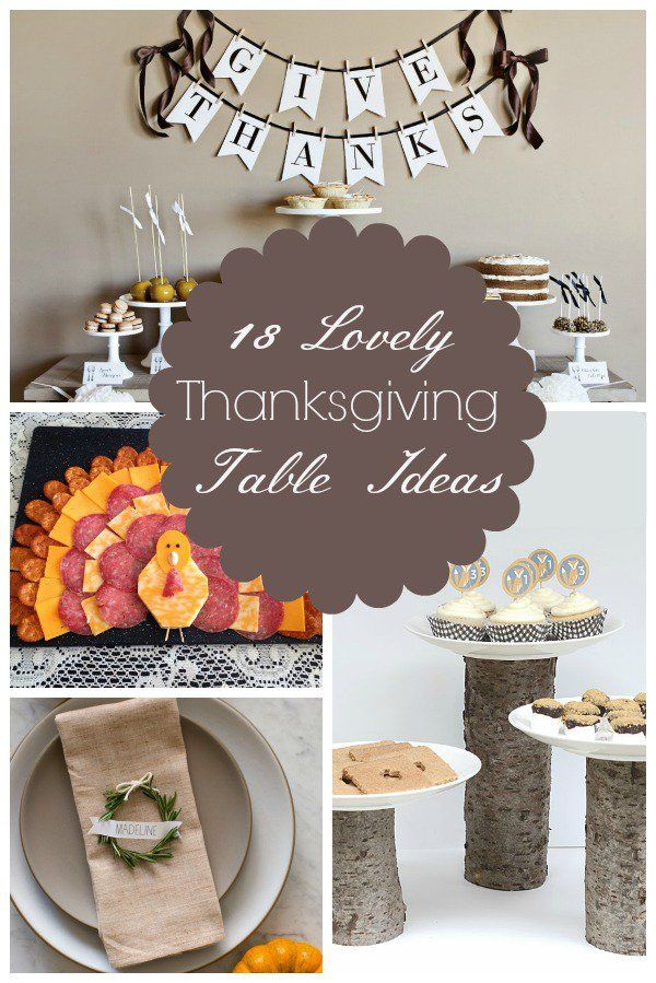Lovely thanksgiving table ideas home decor for the