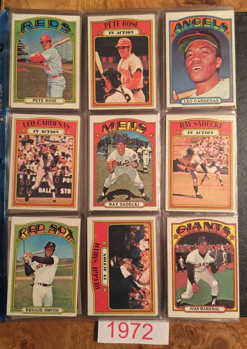 BASEBALL CARD COLLECTION 70'S THRU 2015 Baseball cards
