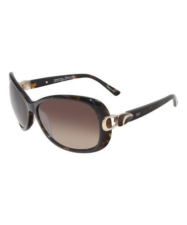 This Tortoise Buckle Oversize Sunglasses is perfect! #zulilyfinds