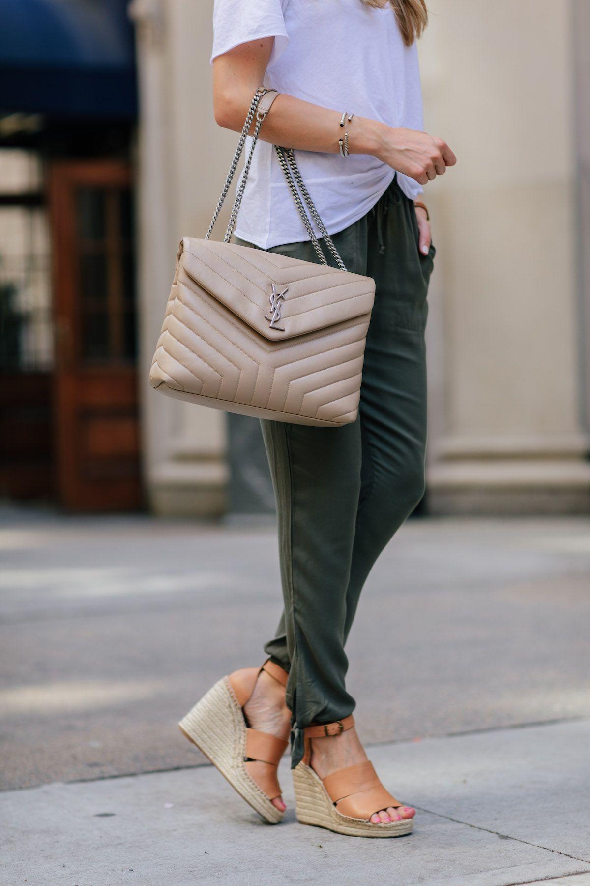 57d312c75ab Saint Laurent LouLou Medium Chain Bag | Accessories in 2019 | Bags ...