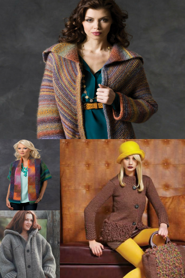 30+ Free Knitting Patterns for Ladies\' Jackets | Free Knitting ...