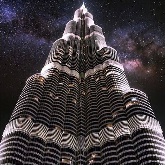 Burj Khalifa, Dubai- UAE