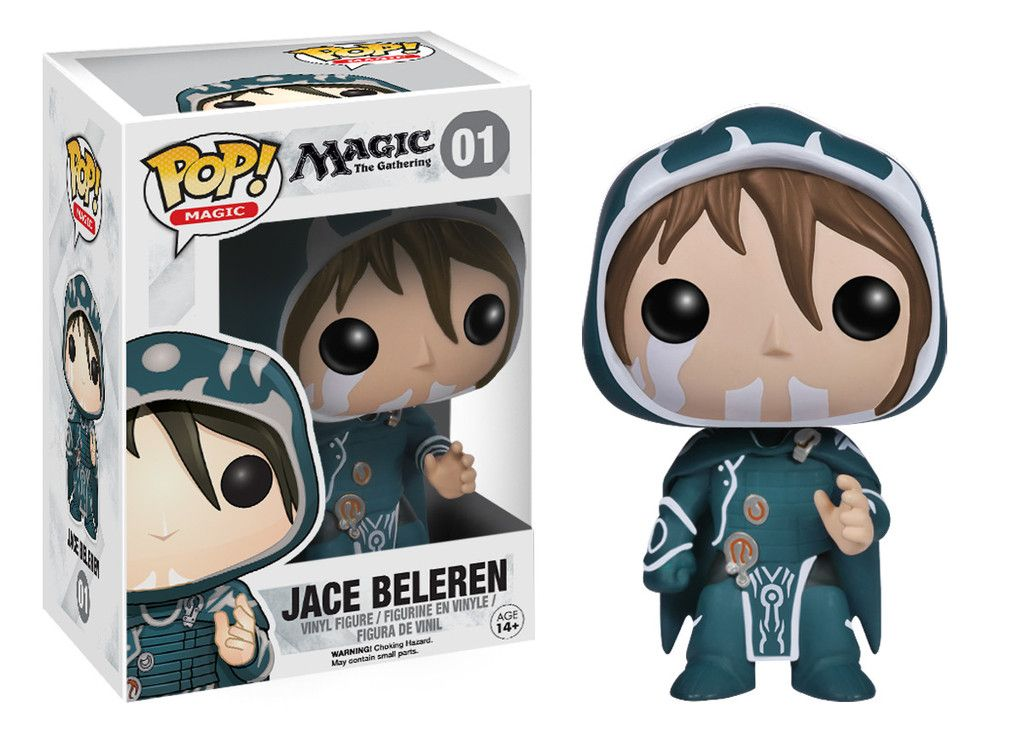 Pop Games Magic The Gathering Jace Beleren Magic The Gathering Vinyl Figures Pop Vinyl Figures