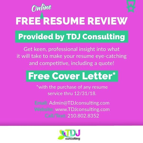 Click The Link In My Bio To Submit Your Resume For Review