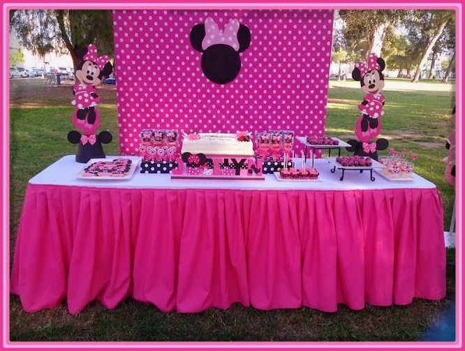 Resultado De Imagen Para Minnie Fiesta Infantil Minnie Mouse Birthday Party Decorations Minnie Mouse Decorations Mini Mouse Birthday Party Ideas