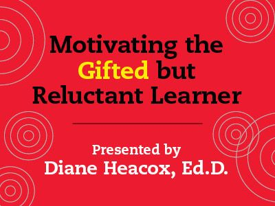 In this webinar Dr. Diane Heacox, Ed.D. explores well-documented research on underlying causes of low performance and create distinctions between non-producers, selective producers, and underachievers among the gifted populations.