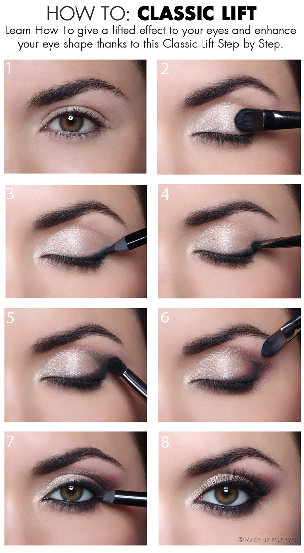 Fashionble Natural Eye Makeup Tutorials For Work Makeup Applying