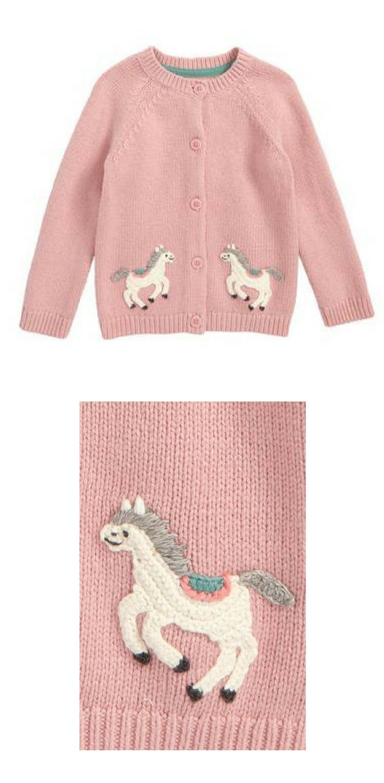 Mini Boden Crochet Pony Cardigan #crochetpony