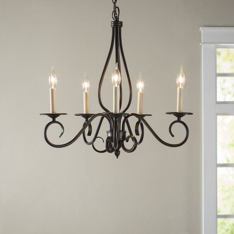 Ingles 5 Light Candle Style Classic Traditional Chandelier Reviews Birch Lane Candle Style Chandelier Ceiling Light Design Iron Chandeliers