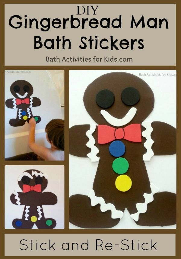 Gingerbread Paint Recipe | Gingerbread man, Gingerbread and Bath