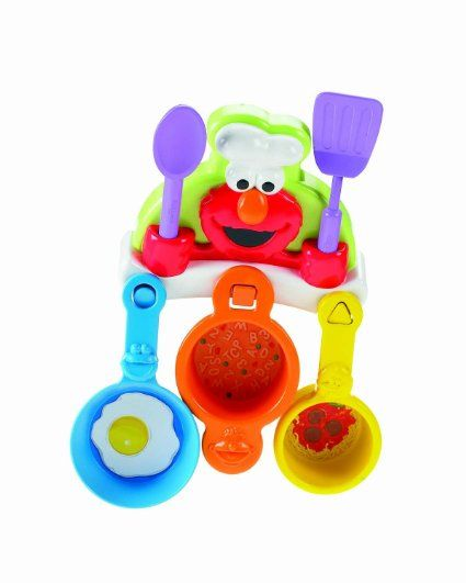 Amazon Com Fisher Price Sing And Cook With Elmo Toys