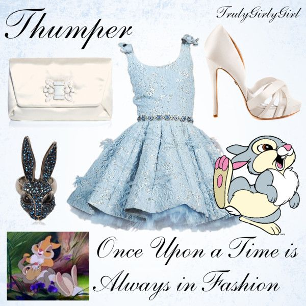 """Disney Style: Thumper"" by trulygirlygirl on Polyvore"