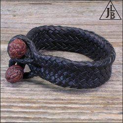 24 Strand Leather Bracelet