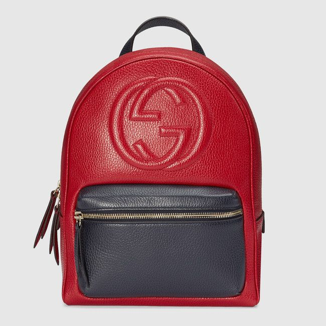 3a6de7f89b7d Soho leather chain backpack