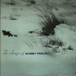 The Songs Of Bobby Troup, label: Bethlehem BCP 1030 (1955) Design: Burt Goldblatt.