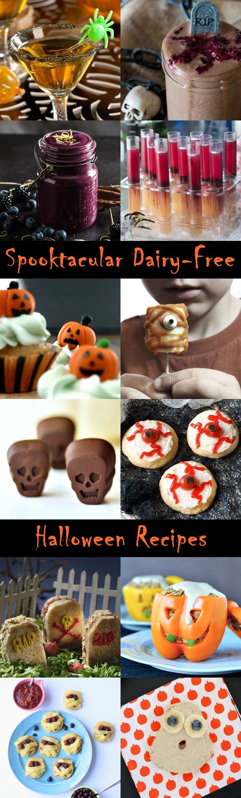 The Big List of Ghoulishly Good Dairy-Free Halloween Recipes ...