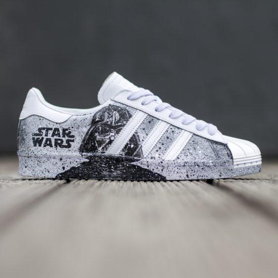 Adidas Superstars Star Wars Custom Handmade Www Drshoes Pl Adidas Superstar Superstar Original Adidas Originals Superstar