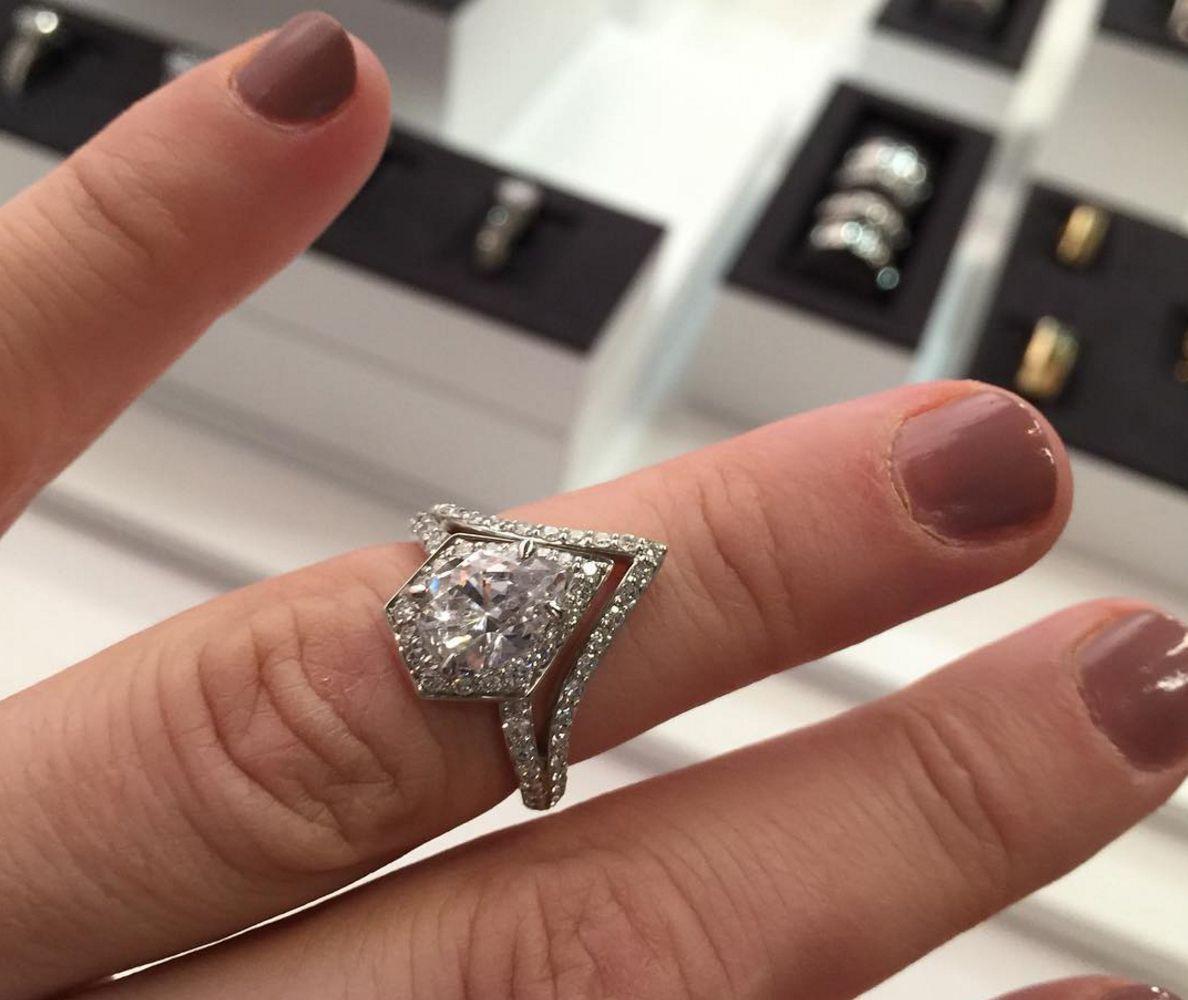severine karl lagerfeld engagement ring Spoiled Pinterest Karl