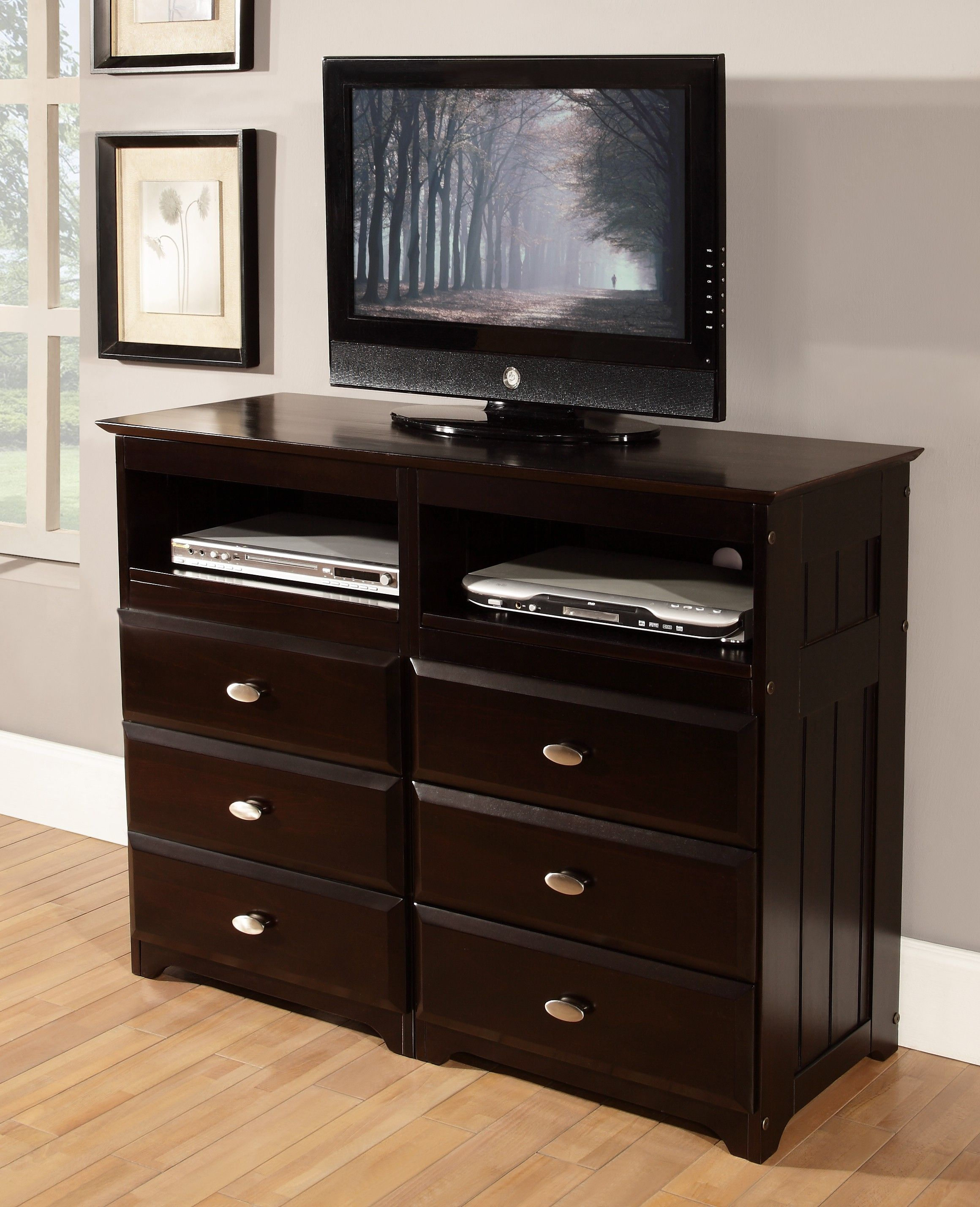 Espresso E Saving Tv Stand And Dresser Combo