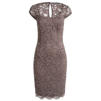 Schickes Kleid in Braun von Esprit. Das Kleid wird durch den tollen ...