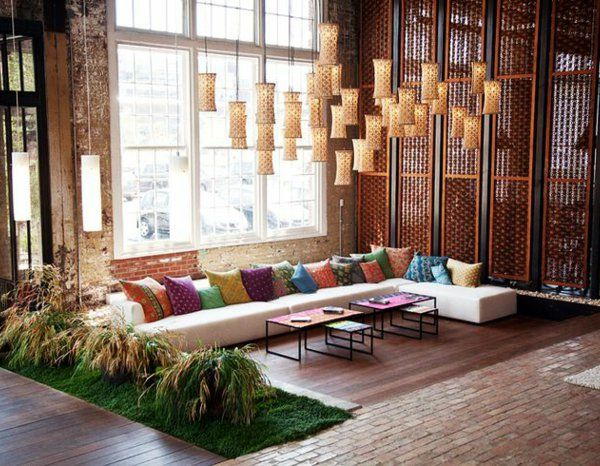 Le canapé marocain qui va bien avec votre salon Living rooms