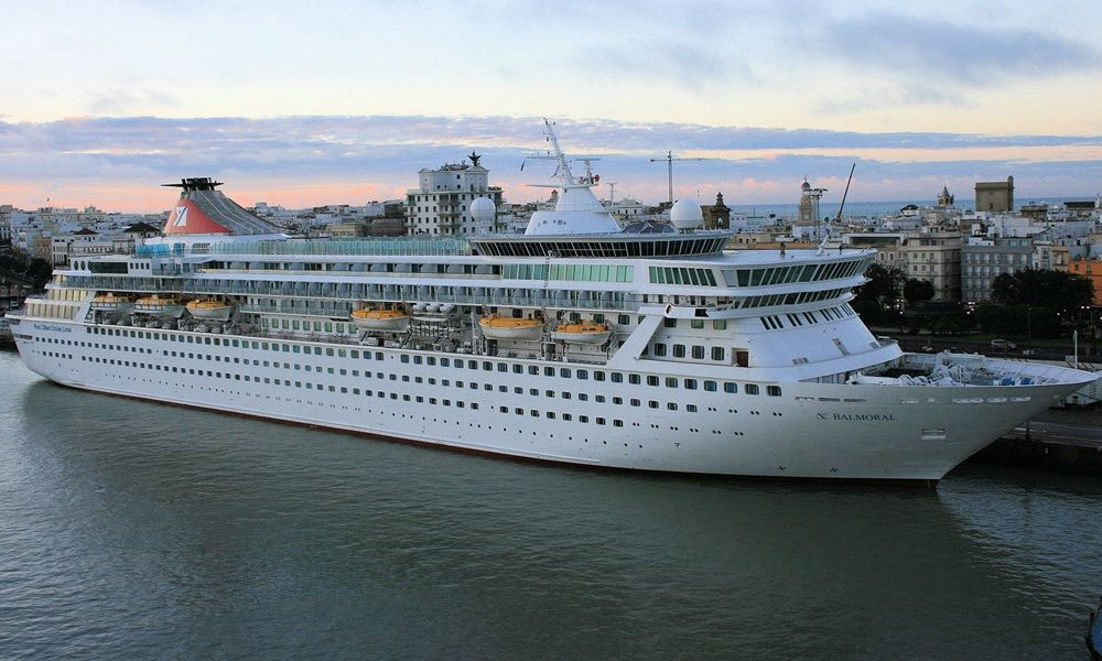 Balmoral Itinerary Schedule Current Position CruiseMapper - Amadea cruise ship itinerary