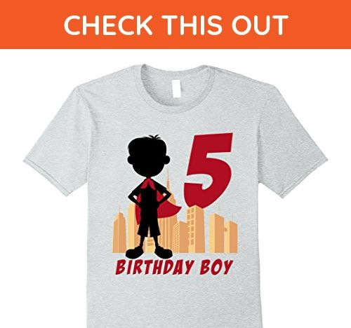 Superhero Fifth Birthday 5 Years Old Gift Idea Kids Sweatshirt Comix FIVE