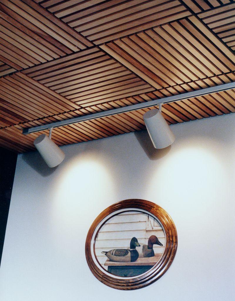 Woodgrille Grill Wood Ceiling And Wall System Solid Wood And Real Wood Veneer Ceiling And Wall Systems Techo De Lamina Techos De Madera Diseño De Falso Techo