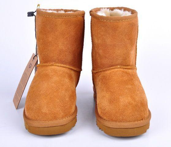 UGG Classic Short Kids Boot 5281 Chestnut http://uggbootshub.com/classic