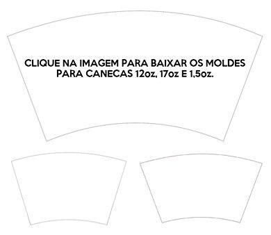 Resultado De Imagem Para Impressao Caneca Conica Molde Canecas