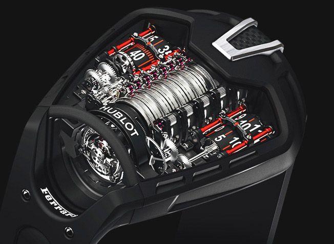 Ferrari Watches Hublot Ferrari Fusion Of 2 Luxury Brands Hublot Hublot Ferrari Hublot Watches