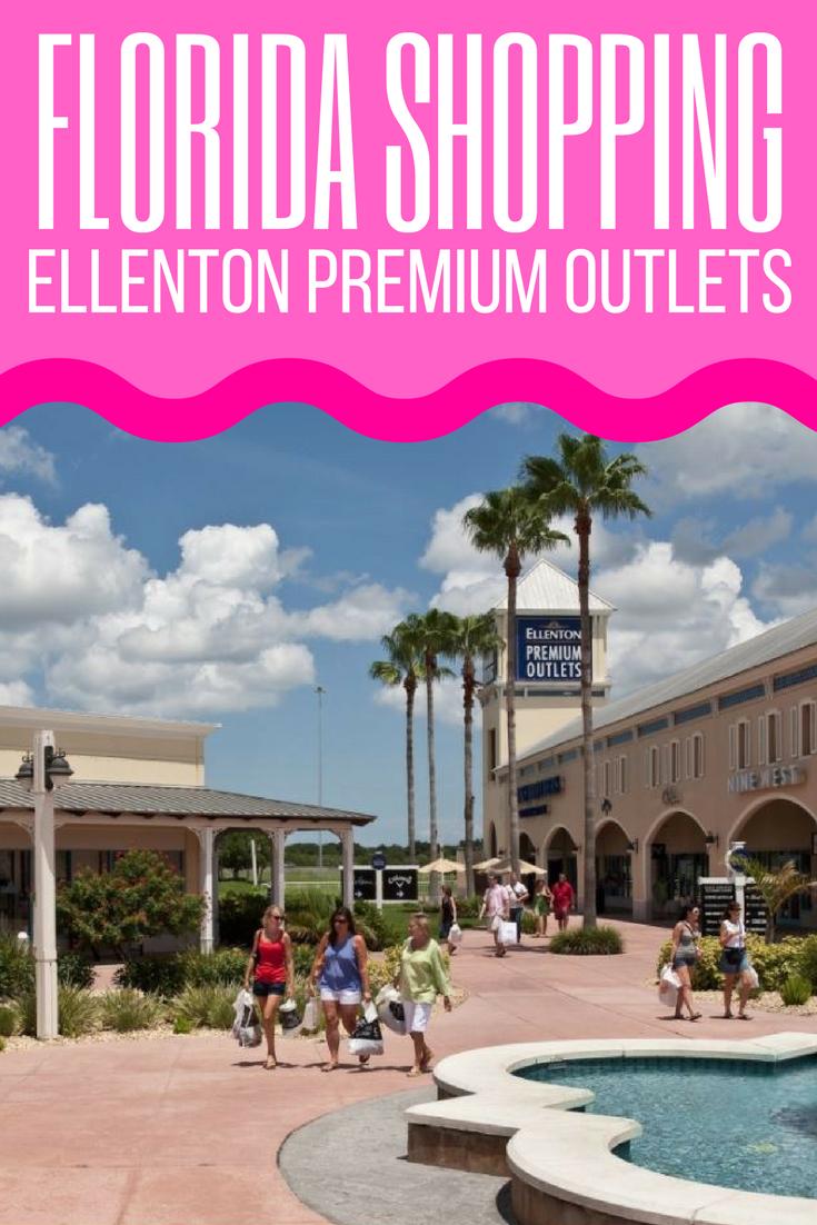 Shopping At Ellenton Premium Outlets On Florida S West Coast Visit Florida Ellenton Premium Outlets Visit Florida