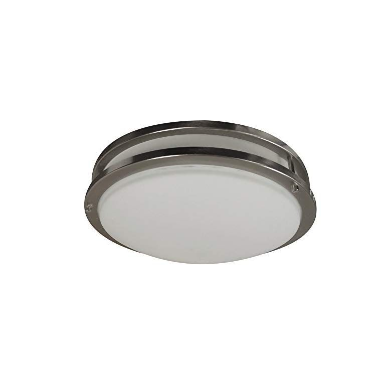 Homeselects 6102 Light 12 Brushed Nickel Ceiling Fixtures Light Shop Lighting