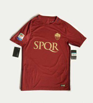 online store 64d58 553db 2017 Cheap Jersey AS Roma Derby SPQR Replica Football Shirt ...
